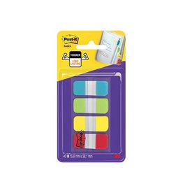 Post-it Post-it index Strong 15,8x38,1 4kl, 10 tabs per kl [6st]