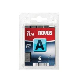 Novus Novus nietjes A 53/6, doos met 2000 nietjes