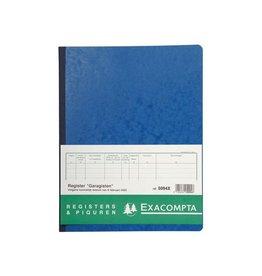 Exacompta Exacompta register garagist en pomphouder, 32x25cm
