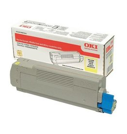 OKI OKI 46507505 toner yellow 8000 pages (original)