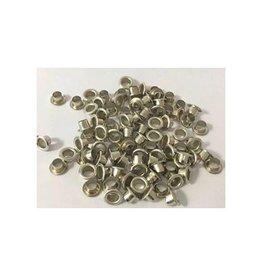 Graine Creative Graine Créative metalen oogjes 7 mm, doos met 100 stuks