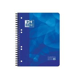 Oxford Oxford projectbook voor A5+,gelijnd,6-gaatsperforatie,blauw