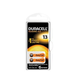Duracell Duracell hoortoestelbatterijen DA13, blister van 6 stuks