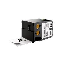 Dymo Dymo XTL tape 54 mm, zwart op wit, vinyl