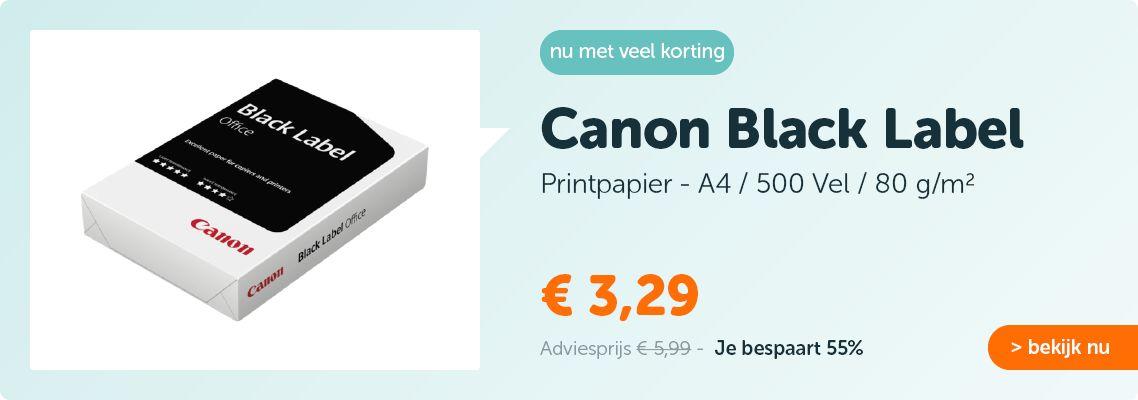 Canon Black Label A4 80gr Papier