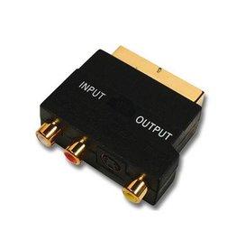 Belkin Cable Belkin Scart 3xRCA MINDINM4M