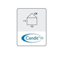 Cendit Dienstenvelop C6 kruis (25)