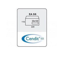 Cendit Dienstenvelop EA5/6 (500)