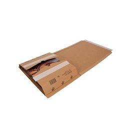 Cleverpack Cleverpack wikkelverpakking uit karton 270x330x20 / 80, 10st