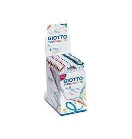 Giotto Giotto Turbo Glitter viltstiften kartonnen etui 8st