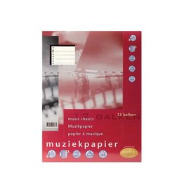 Multo Multo muziekpapier voor ft A4, 23-gaatsperforatie