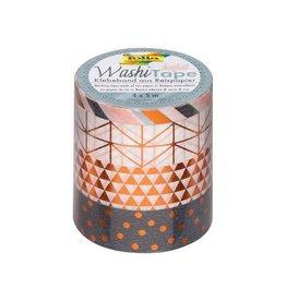 Folia Folia washi tape koper, pak met 4 stuks