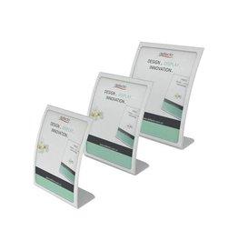 Deflecto Deflecto gebogen folderhouder ft A4