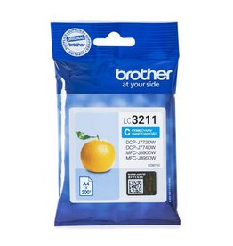 Brother Brother LC-3211C ink cyan 200 pages (original)