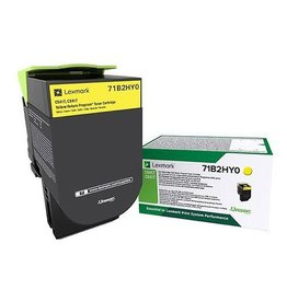 Lexmark Lexmark 71B2HY0 toner yellow 3500 pages (original)