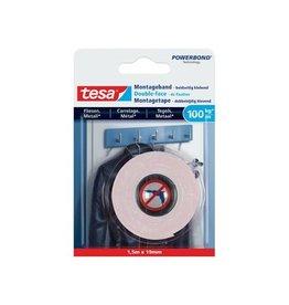 Tesa Tesa Powerbond montagetape Tegels en Metaal, 19 mm x 1,5 m