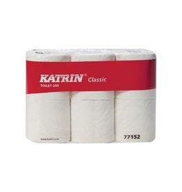 KATRIN Katrin toiletpapier Classic, 2-l, 200 vel/rol, 6 rollen