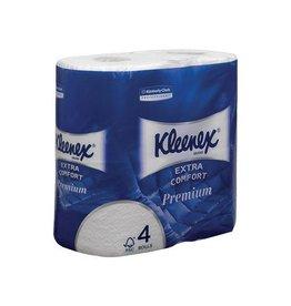 Kleenex Kleenex toiletpapier Extra Comfort 4-l 160 vel/rol 4 rollen