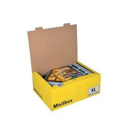 Colompac Colompac Mailbox Extra Large 5 formaten aannemen geel [10st]