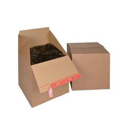 Colompac Colompac Eurobox Size L, 394x394x384mm, bruin [10st]