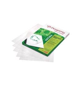 Pergamy Pergamy omslagen uit gerecycleerd plastic A4, 200mic, 100st