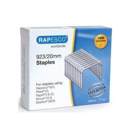 Rapesco Rapesco nietjes 923/20mm (type 23) verzinktje 1000 nietjes