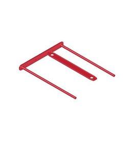 Bankers Box Bankers Box archiefbinder D-clip, doos van 100 stuks, rood
