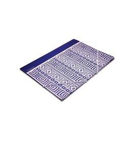Pergamy Pergamy Ethnic elastomap met kleppen, ft A4, blauw [25st]