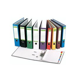 Pergamy Pergamy ordner A4, Recycolor papier, 8 cm, div. kl. [10st]