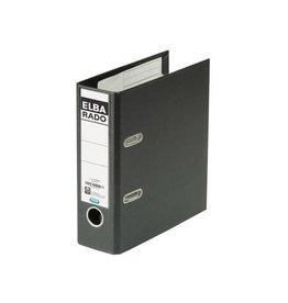 Elba Elba Rado Plast ordner voorA5 staand, zwart, rug van 7,5 cm