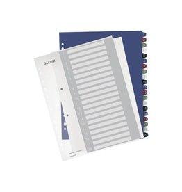 Leitz Leitz personaliseerbare tabbladen, 11-gaatsperf., 1-20 tabs