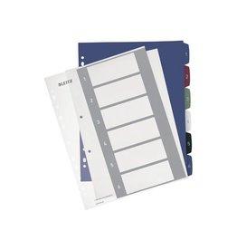 Leitz Leitz personaliseerbare tabbladen 11-gaats.,1-6 tabs