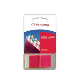 Pergamy Pergamy index ft 43 x 25 mm, rood