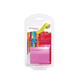 Pergamy Pergamy Roll notes, ft 10 m x 50 mm, neon roze