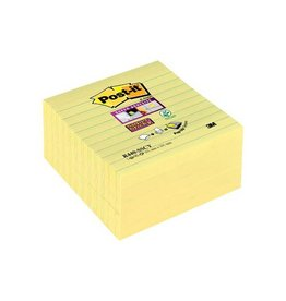 Post-it Post-it Super Sticky Z Notes, geel, 101x101mm, 90bl [5st]