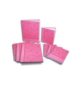 Pergamy Pergamy Mandala notitieboek ft A5, gelijnd, roze [5st]