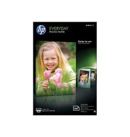 HP HP Everyday fotopapier ft 10x15cm, 200 g, 100 vel, glanzend