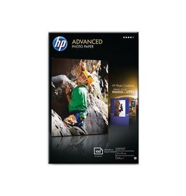 HP HP Advanced fotopapier ft 10x15cm, 250 g, 100 vel, glanzend