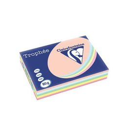 Clairefontaine Clairefontaine Trophée Pastel A3, 80 g, 500 vel, assorti