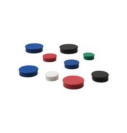 Nobo Nobo Magneten, diameter 38 mm, zwart, 4 stuks