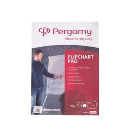Pergamy Pergamy flipchartpapier ft A1, blanco, rol met 40 blad [5st]