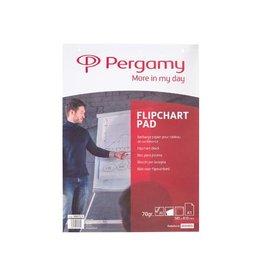 Pergamy Pergamy flipchartpapier A1 (58,5x81cm) blanco pak 20bl [5st]
