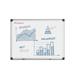 Pergamy Pergamy Excellence emaille magnetisch whiteboard ft 90x60cm