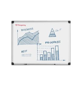 Pergamy Pergamy Excellence emaille magnetisch whiteboard ft 60x45cm