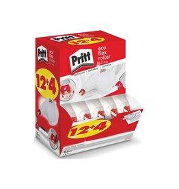 Pritt Pritt correctieroller Eco Flex, value pack met 12+4 stuks