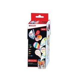 Edding edding Colour Happy box, assortiment met 20st in div. kl.