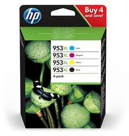 HP HP 953XL (3HZ52AE) multipack black + 3 color (original)