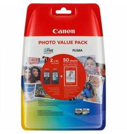 Canon Value Pack Canon PG540XL+CL541XL BK+CLR+50bl