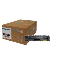 Ecotone HP 203X (CF542X) toner yellow 2500 pages (Ecotone)