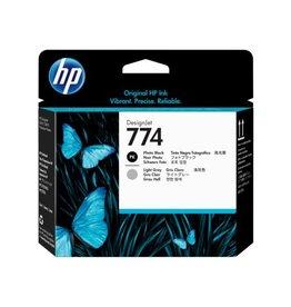 HP HP 774 (P2W00A) printhead photo black/light grey (original)